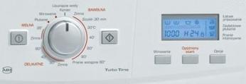 Стиральная машина MasterCook PFD 1264 - кнопочная панель