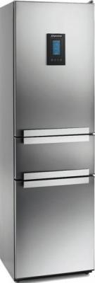 Холодильник с морозильником MasterCook LCTD-920NFX - общий вид