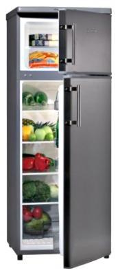 Холодильник с морозильником MasterCook LT-614X PLUS - общий вид