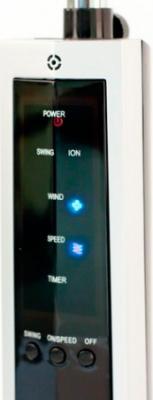 Вентилятор UFO ATSFI-122 - панель управления