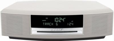 Минисистема Bose Wave Music System Titanium Silver - Вид спереди