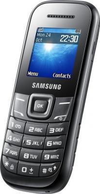 Мобильный телефон Samsung E1200 (черный) - общий вид