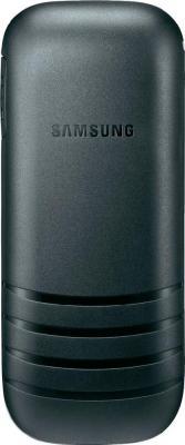Мобильный телефон Samsung E1200 (черный) - вид сзади
