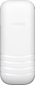 Мобильный телефон Samsung E1200 (белый) - вид сзади