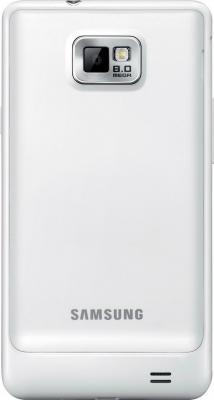 Смартфон Samsung I9100 Galaxy S II White (GT-I9100 RWASER) - вид сзади