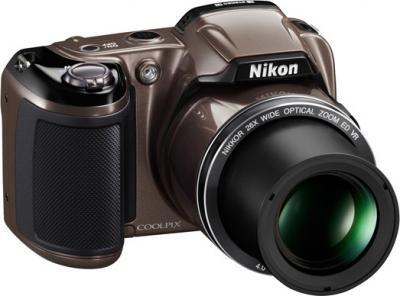 Компактный фотоаппарат Nikon COOLPIX L810 Bronze - Общий вид