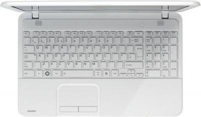 Ноутбук Toshiba Satellite C850-B6W (PSKC8R-067010RU) - клавиатура