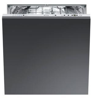 Посудомоечная машина Smeg STLA828A - Вид спереди