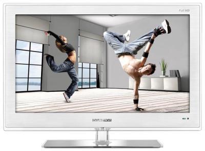 Телевизор Hyundai H-LED24V8 - вид спереди
