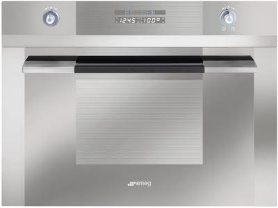 Электрический духовой шкаф Smeg SC45MF2 - вид спереди