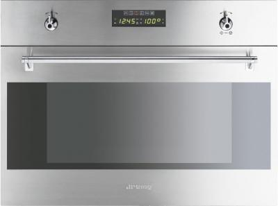 Электрический духовой шкаф Smeg S45MFX2 - общий вид