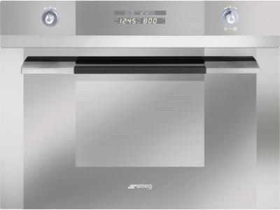 Электрический духовой шкаф Smeg SC45MC2 - вид спереди