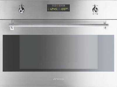 Электрический духовой шкаф Smeg S45MCX2