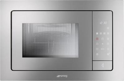Микроволновка Smeg FME120 - вид спереди