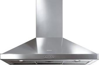 Вытяжка купольная Smeg KSE9800XL - Общий вид