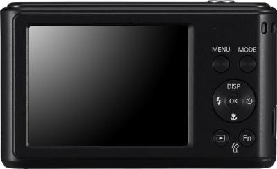Компактный фотоаппарат Samsung ES90 (EC-ES90ZZBPBRU) Black - вид сзади