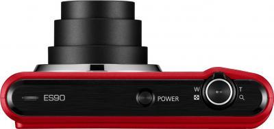 Компактный фотоаппарат Samsung ES90 (EC-ES90ZZBPRRU) Red - вид сверху