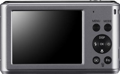 Компактный фотоаппарат Samsung ES90 (EC-ES90ZZBPSRU) Silver - вид сзади