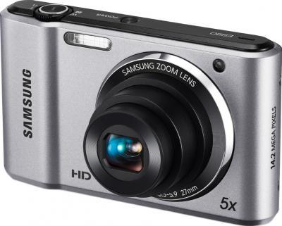 Компактный фотоаппарат Samsung ES90 (EC-ES90ZZBPSRU) Silver - общий вид