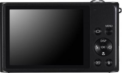 Компактный фотоаппарат Samsung ST200 (EC-ST200ZBPBRU) Black - вид сзади