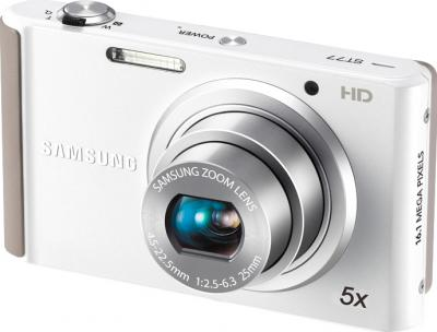 Компактный фотоаппарат Samsung ST77 White - общий вид