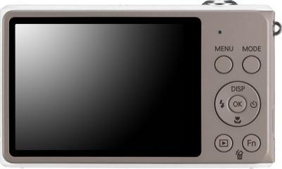 Компактный фотоаппарат Samsung ST77 White - вид сзади