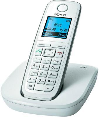 Беспроводной телефон Gigaset A510 - общий вид (белый)