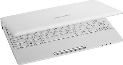 Ноутбук Asus EEE PC X101CH-WHI038S - полуоткрытый