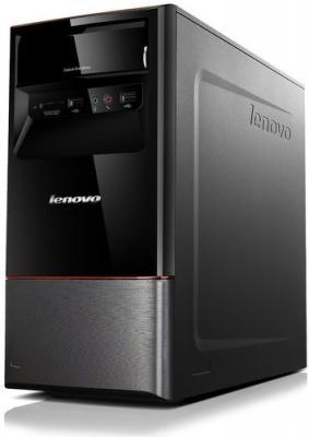 Системный блок Lenovo H420 - вид сбоку