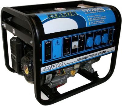 Бензиновый генератор Etalon FPG 5800 - общий вид