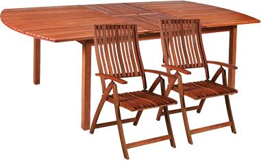 Комплект садовой мебели Garden4you FRANCES 27823, 27824 - Общий вид