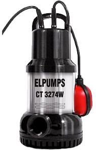 Дренажный насос Elpumps CT 3274W - общий вид