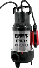 Фекальный насос Elpumps BT 4877 К - общий вид