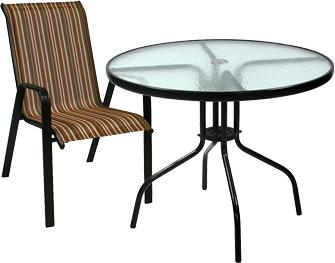 Комплект садовой мебели Garden4you Hilton 11716, 11717 - Общий вид