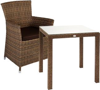Комплект садовой мебели Garden4you Wicker 13344, 12691 - Общий вид