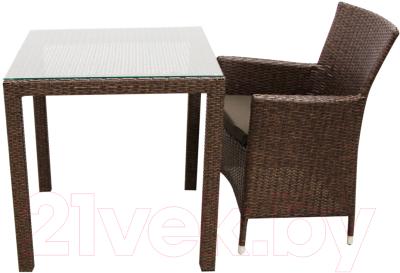 Комплект садовой мебели Garden4you Wicker 13344, 12691