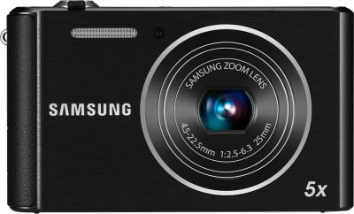 Компактный фотоаппарат Samsung ST88 (EC-ST88ZZBPBRU) Black - Вид спереди