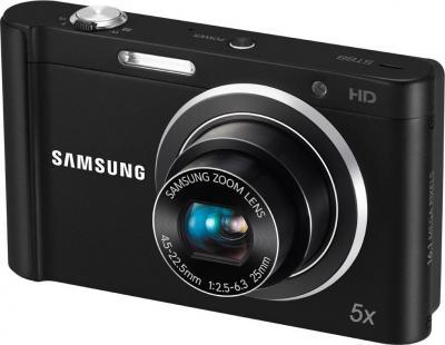 Компактный фотоаппарат Samsung ST88 (EC-ST88ZZBPBRU) Black - Общий вид