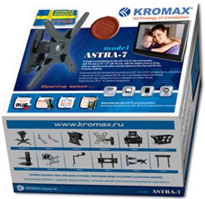 Кронштейн для телевизора Kromax Astra-7 (темно-серый) - упаковка
