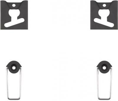 Кронштейн для телевизора Kromax Vega-2 (черный) - вид спереди