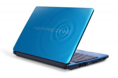 Ноутбук Acer Aspire AOD270-26Cbb (NU.SGDEU.002) - сзади полуоткрытый