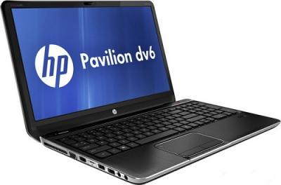 Ноутбук HP Pavilion dv6-7057er (B3N26EA) - Вид сбоку