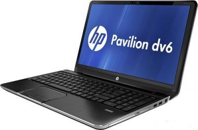 Ноутбук HP Pavilion dv6-7057er (B3N26EA) - Вид сбоку 2
