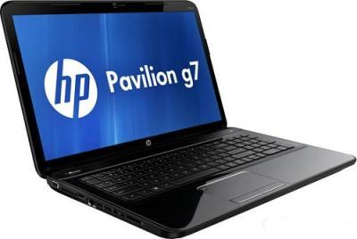 Ноутбук HP Pavilion g7-2052sr (B4E64EA) - Вид сбоку