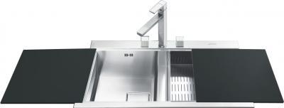 Мойка кухонная Smeg LQVA862-1 - Общий вид