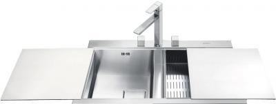 Мойка кухонная Smeg LQVB862-1 - общий вид
