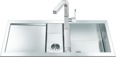 Мойка кухонная Smeg LQR100-2 - Общий вид