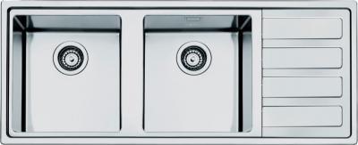 Мойка кухонная Smeg LMN116D - вид сверху