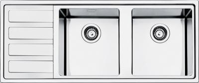Мойка кухонная Smeg LMN116S - общий вид