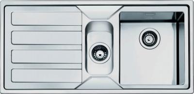 Мойка кухонная Smeg LMN102S - вид сверху